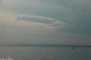 Morgonfiske.