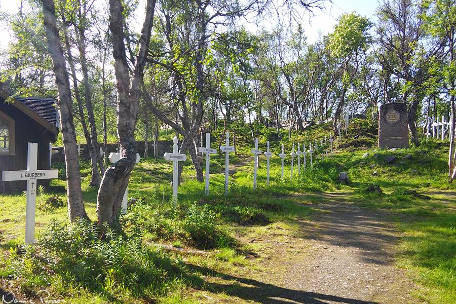 Rallarkyrkogården.
