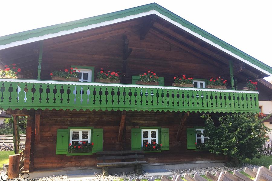 Ett extra söta hus i Kaprun.