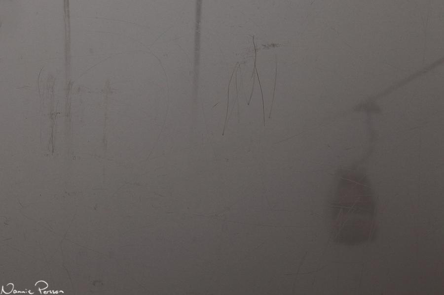 In i molnen, upp till Schareck.